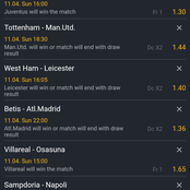 Sunday's Well Analyzed Correcr Score Prediction At Your Finger Tips Total (Odds)147.47
