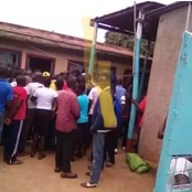 (Video)Internet Erupts After Seeing Video Of a Couple From Bungoma Arguing Over Baby Shaving Issue