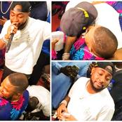 Davido Allegedly Sprays Yinka Ayefele 1 Million On Stage As He Performs A Hit Song
