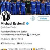 Michael Essien has lost most of his followers after supporting LGTBQIA. He faces a hard time online