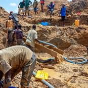 Une montagne d'or découverte dans un pays d'Afrique centrale