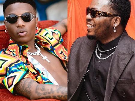 Checkout What Wizkid Wrote About Olamide After He Released A New Music With Dj Enimoney