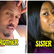 Meet Actor Mike Ezuruonye's Look-Alike Sister Who Is A Doctor Abroad (Photos)