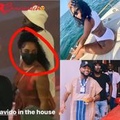 The Beautiful Lady Singer Davido Allegedly Spotted Holding Hands With, See More Of Her Pictures