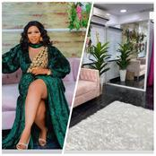 Actress Wunmi Toriola Shows Off The Interior Decor Of Her New Shop