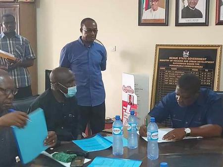 The Ministry Of Housing And Urban Development Signed An MoU To Ease Housing Deficit In Benue state