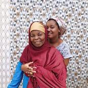 Photos Of Some Kannywood Actresses And Their Lovely Mothers