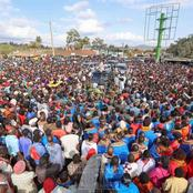 Massive Crowd As Uhuru Storms Rift Valley County (PHOTOS)