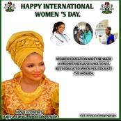 Her Excellency, Farida Abdullahi Sule Celebrates International Women Day