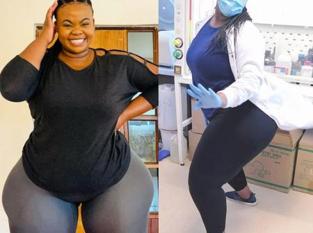 I Represent Thick Models In The Medical Field - Curvy Zimbabwean Laboratory Scientist