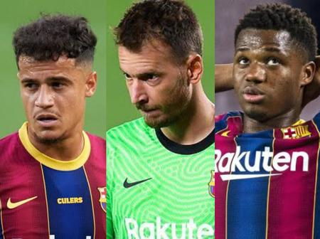 El Clasico: 3 Barcelona players to miss Real Madrid match