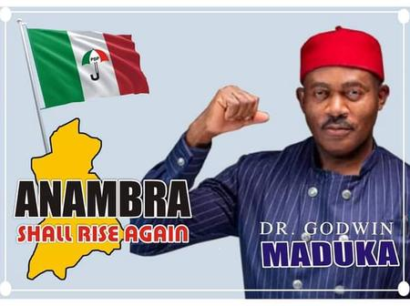 Read The CAPTIVATING STATEMENT Made By ANAMBRA STATE 2021 Governorship Aspirant (Dr. Godwin Maduka).