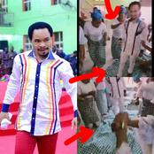 See Video Of Women Throwing Their Wrapper On The Floor As Pastor Odumeje Triumphantly Enters Onitsha