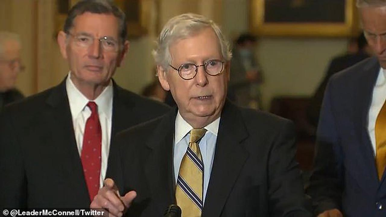 Mitch McConnell warns there could be LOCKDOWNS if more Americans don't get vaccinated as the Delta variant continues to wreak havoc