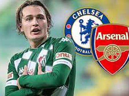Arsenal battling Chelsea for promising striker with impressive goal ratio