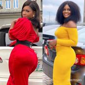 Forget Destiny Etiko, Meet Chizzy Alichi the actress with enlarged hips and curves.