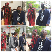 See The Spiritualist That Followed Yele Sowore To Court In Abuja Which Has Sparked Reactions Online