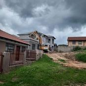 A man called a TLB to demolish the house he built for his girlfriend after she dumped him, fair?