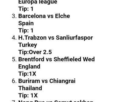 Tonight's Well Analysed Soccer Tips Set to Win You Massively