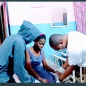 Harrison Shares Video Of Ada Jesus Receiving Treatment In Hospital, See Her Current Condition
