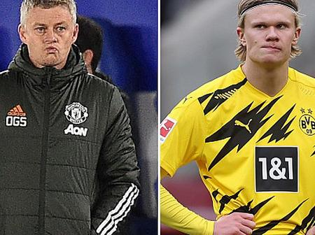 Check Out What Manchester United Coach Said About Haaland Future