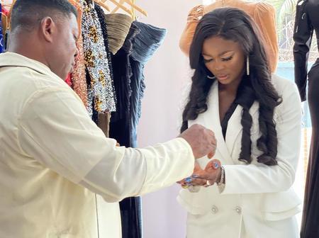 Brighto, Dorathy and Trikytee react as Ka3na open her fashion store with prayers