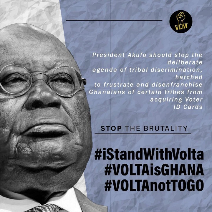 41a3d1b24d83159d46a82fac88798075?quality=uhq&resize=720 - Voter Registration: Are The Actions From The Gov't A Tribal Discrimination Against The People Of Volta?
