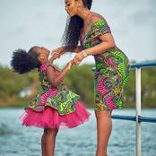 Take a Look at These Elegant Ankara Designs to Match With Your Kids.