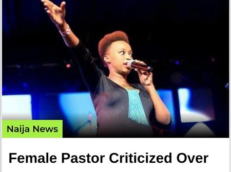 Female Pastor was criticized over wearing revealing dress while preaching