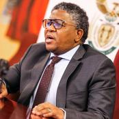 Bad News Transport minister Fikile Mbalula has Threatened a limpopo taxi driver see why
