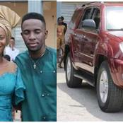 1 Day After He Got Married, See The Car Popular Nigerian Gospel Singer Bought For His Pastor Today