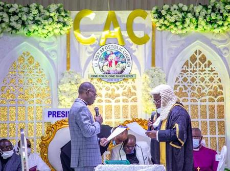 Pastor Samuel Oladele inaugurated as 8th President of CAC