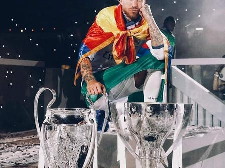Sergio Ramos Celebrates His 35th Birthday, Check Out His Outstanding Performances As A Legend.