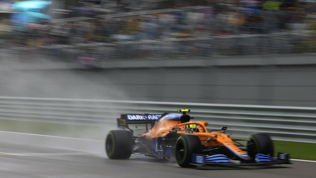 Formel 1, Sotschi-Qualifying: Norris auf Pole, Hamilton patzt