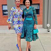 Basetsana Kumalo and her lookalike sister's recent picture causes a frenzy with her fans.