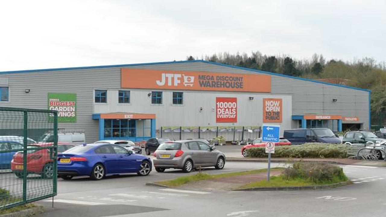 Stoke-on-Trent discount giant JTF launches massive 50% off sale today