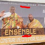 Législatives : l'affiche truffée de fautes d'un candidat RHDP fait grand bruit