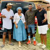 Winnie Mashaba left fans dumbstruck with her recent pictures with these talented artists.