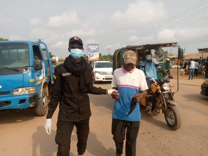 4212362b91c94010be748a44be21675a?quality=uhq&resize=720 - A Number Of Persons Have Been Arrested In Cape Coast For Failing To Wear Face Mask; Ghanaians React
