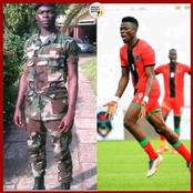 Baroka FC striker is a soldier and he got the promotion