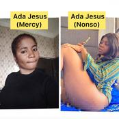 There Are Two Different Ada Jesus Who Are Comedians, Look At These Photos So You Don't Mix Them Up