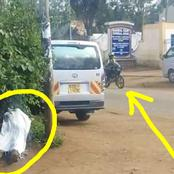 Panic And Grief As Middle Aged Stranger Man Found Dead Outside Thika Level 5 Hospital