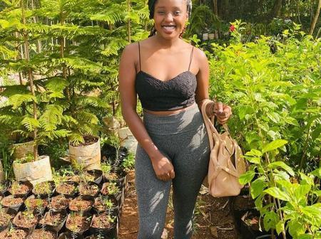 Meet Anita Soina, A 20 Year Old Girl, Who Is Following Wangari Mathaai's Footsteps.