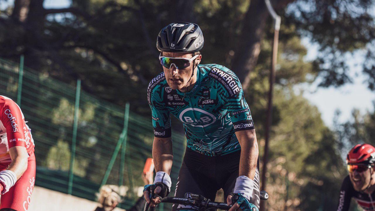VIDEO Lannion. Franck Bonnamour au départ du Tour de France