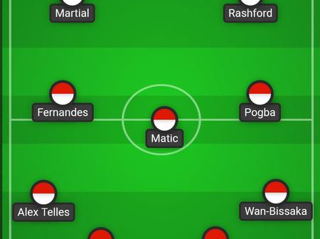UCL: Manchester United Predicted XI Against PSG, Cavani and Alex to start