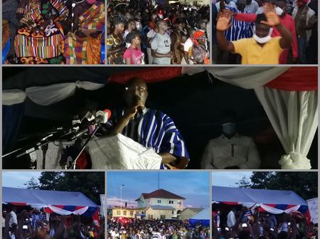 Elubo Goes 'Gaga' For Bawumia, NDC's 'Grip' Loosened (Photos)