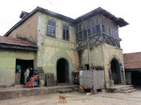 Check Out the pictures of 240 years house in Ibadan with over 180 rooms