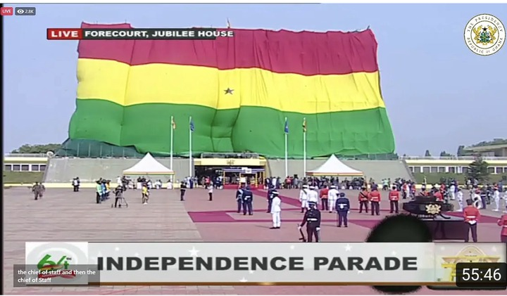 423305ac382e4dfb80a77b83fc6c93f0?quality=uhq&resize=720 - Independence Day: Ghanaians Did Not Understand The Black Net Around The Jubilee House; Until Today