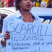 Massive Reaction After A Woman Was Seen On The Streets Begging Men To Marry Her
