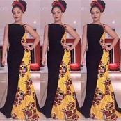 Do You Have A Leftover(2 Yards) Ankara? Check Out These Decent Long Gowns You Should Try With That
